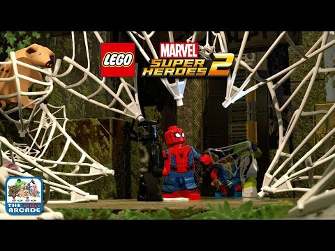 LEGO MARVEL Super Heroes 2 - Scaring the Web out of Spider-Man (Xbox One Gameplay)