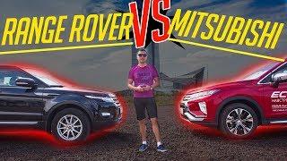Range Rover Evoque vs Mitsubishi Eclipse Cross 2018 Новинка