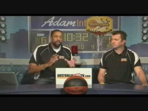 East v West 2010 Melbourne Basketball Tournament  mentioned on Inside The Game TV Show