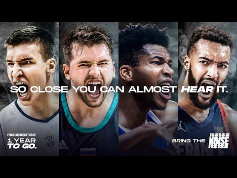 1 year to go to FIBA EuroBasket 2022