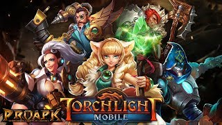 TORCHLIGHT MOBILE English Gameplay Android / iOS - Emberblade