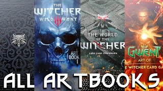 The Witcher Games - All Artbooks (Collector's Editions + Dark Horse artbooks) [4K]