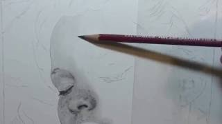 HOW TO DRAW Realistic Skin | Graphite Pencil Drawing Lesson | Realtime