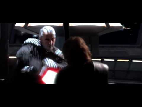 Count Dooku - You have hate, you have anger, but you don't use them (HD)