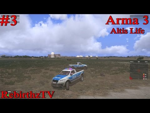 Arma 3: Altis Life #3 เป็นตำรวจนอกเครื่องแบบนี้ยากจุง ต้องค้า heroin
