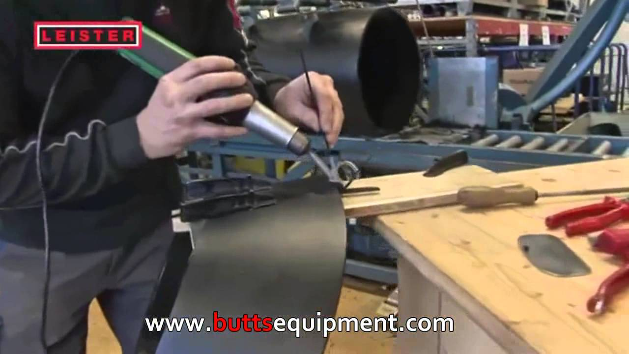 Leister Triac Bt Hot Air Plastic Welding Gun Youtube