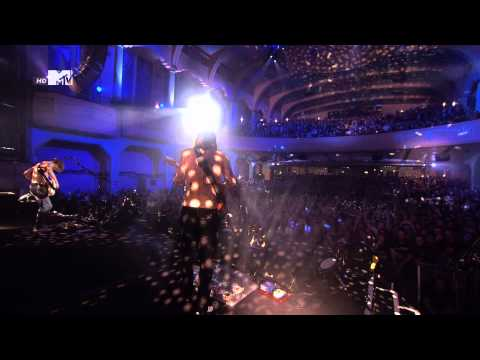 Biffy Clyro - Bubbles - MTV EMA World Stage 2014