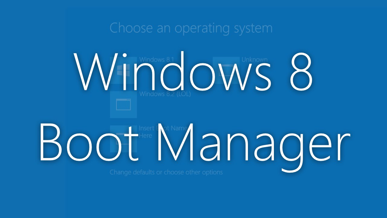 windows 8 bootloader download