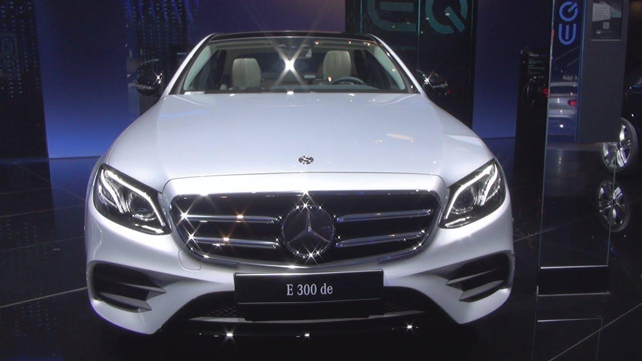 Mercedes-Benz E 300 de Plug-In Hybrid Berline AMG Line (2019) Exterior and Interior