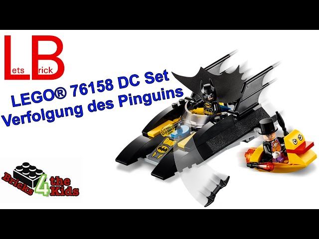 LEGO® 76158 - DC - Verfolgung des Pinguins – mit dem Batboat