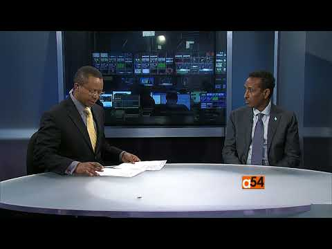 Vincent Makori Speaks with Somalia's Foreign Minister Ahmed Isse Awad