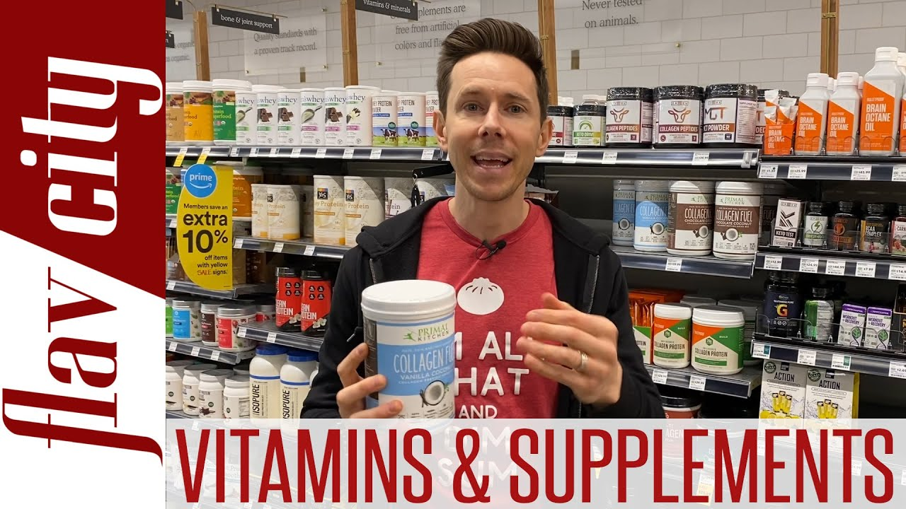 <div>Top 5 Vitamins & Supplements To Support A Healthy Body in 2020</div>