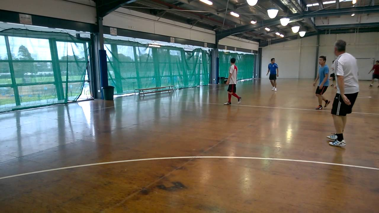 Indoor Soccer In Albert Park 9th April 2017