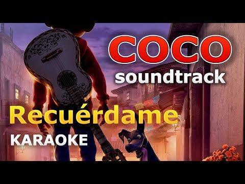 COCO - Recuérdame (Arrullo) - Gael Garcia Bernal KARAOKE con Letra