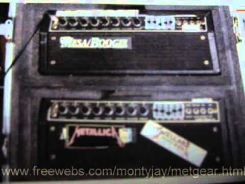 Mesa Boogie Mark IICQuad preamp Master of Puppets