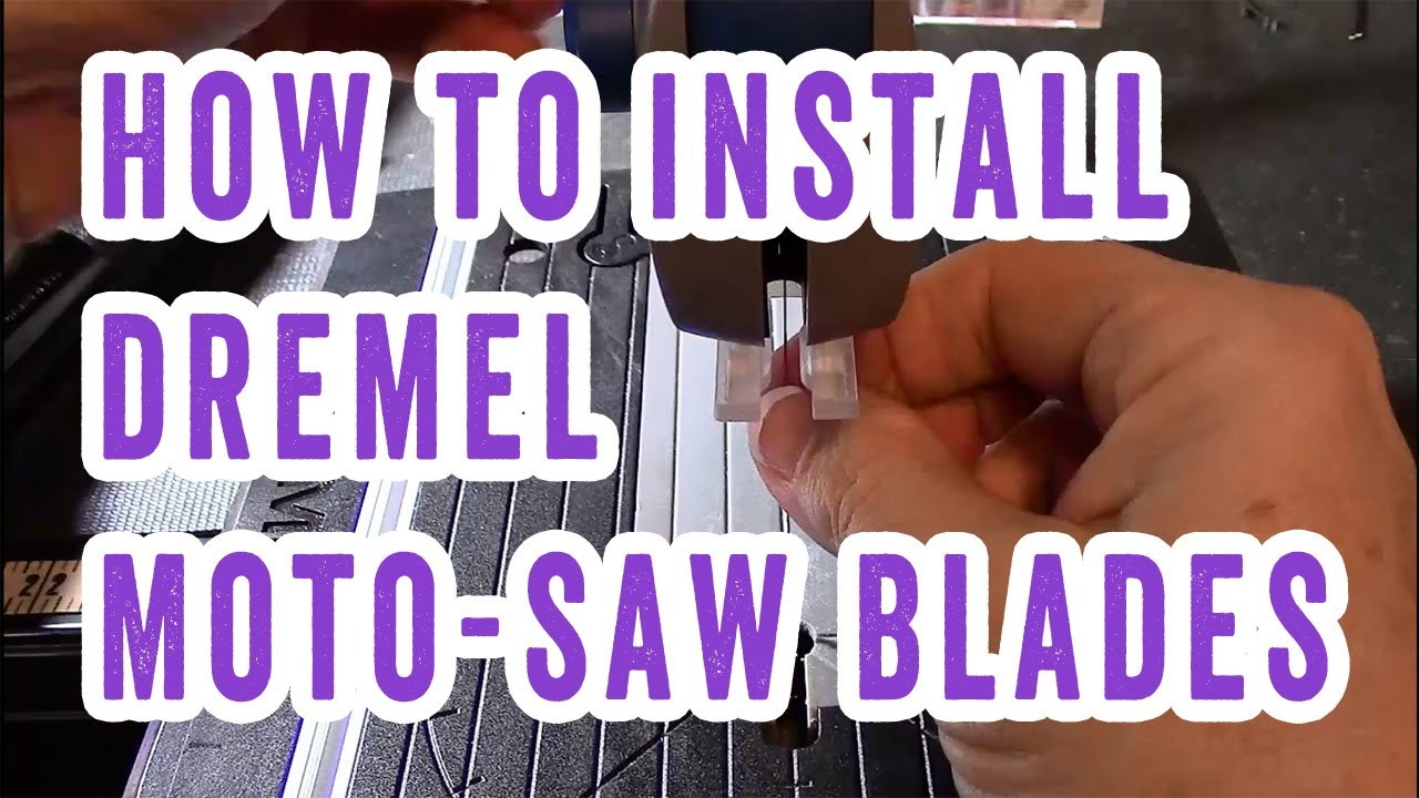 How to install dremel moto saw blades youtube greentooth Images