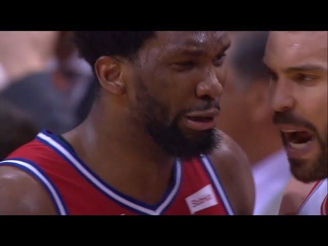 Joel Embiid CRIES after Game 7 Loss | Raptors vs 76ers | 2019 NBA Playoffs