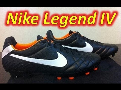 new concept 1d398 c6fe0 Nike Tiempo Legend IV Black/White/Total Orange - UNBOXING