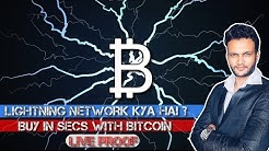 What is Bitcoin Lightning Network ? Hindi