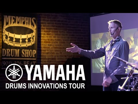 Yamaha Drum Designer Daryl Anderson At Memphis Drum Shop