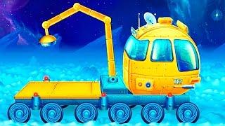 Мультфильм про космические машины - детское приложение Космические Тачки