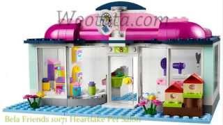 Mainan Bongkar Pasang Lego Block Bela Friends 10171 Heartlake Pet Salon