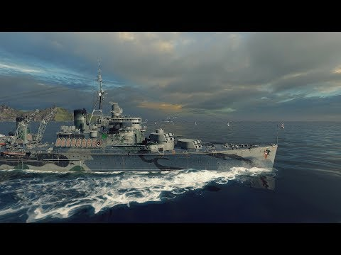 World of Warships: Fiji - Back And Forth