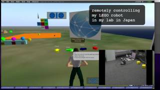 telerobotics + LEGO