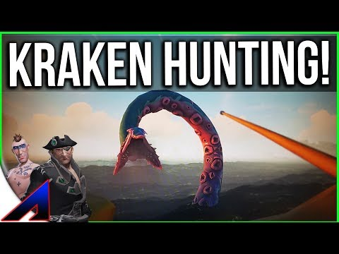 Hunting the KRAKEN! | Sea of Thieves closed beta Duo PvP Game play  |  SOT