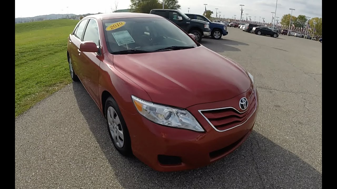 2010 Toyota Camry For Sale >> 2010 Toyota Camry Le Red Reliable Used Cars For Sale Martinsville In P10002