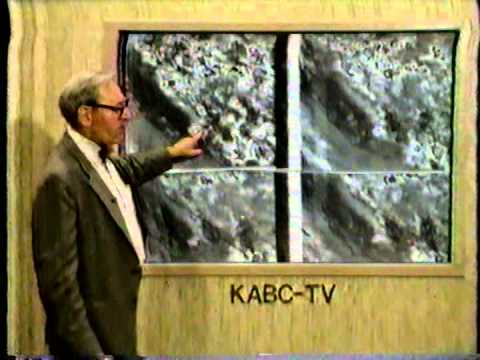 Dr. George Fischbeck, Weather Report 1987 KABC Channel 7  Los Angeles