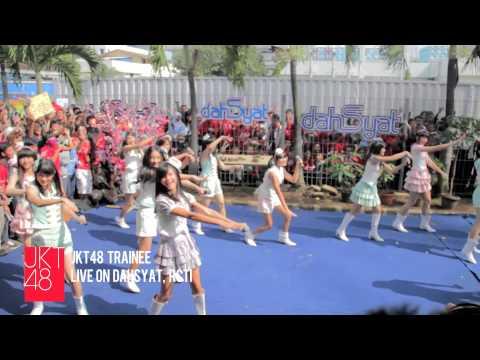 JKT48 live performance: Gomen Ne, Summer at RCTI dahSyat [10.02.2013]