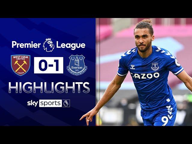Calvert-Lewin fires to dent West Ham's European hopes | West Ham 0-1 Everton | EPL Highlights