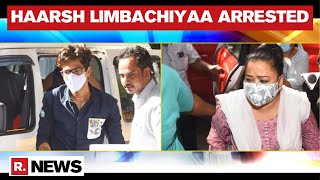 Comedian Bharti Singh's Husband Haarsh Limbachiyaa Arrested By NCB In Drugs Case