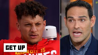 Patrick Mahomes will be prone to reinjuring his knee - Mark Sanchez | Get Up
