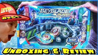 ULTIMATE TOURNAMENT COLLECTION!  Unboxing / Review / Battles - Hasbro Beyblade Burst Evolution Toys
