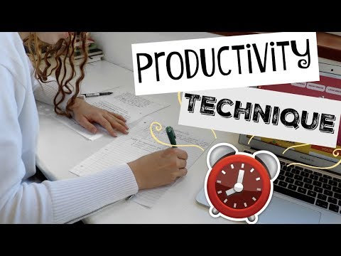 Productive Lil Study With Me Pomodoro Style 👏 What is Pomodoro Technique & How to Use it