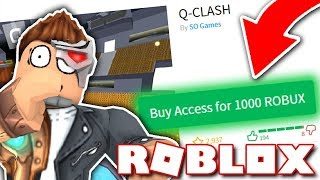 HOW TO MAKE YOUR ROBLOX GAME COST ROBUX - NEW 2018 -
