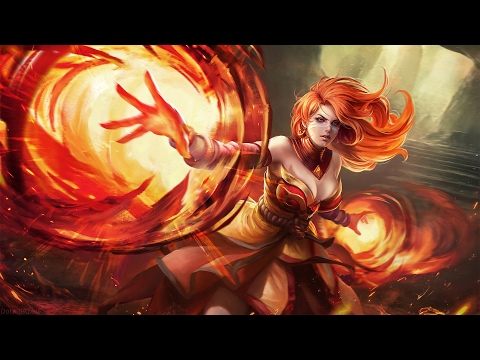 Lina solo mid gameplay by Sumail Ranked Match