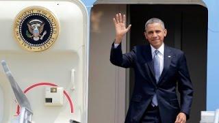 President Obama Arrives at Bole Int. Airport Addis Ababa, Ethiopia - July 26, 2015