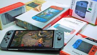 Аксессуары для Nintendo Switch с Алиэкспресс