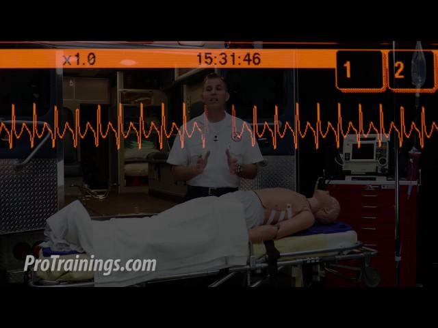 Tachycardia Teaching (ACLS Algorithms)