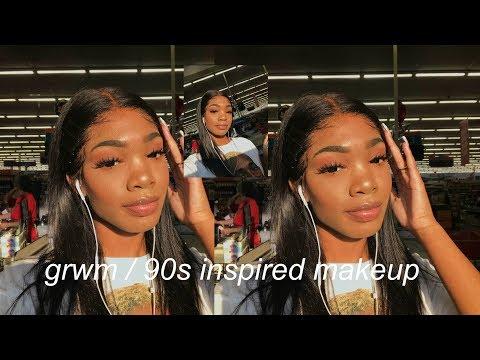 90s inspired makeup (a grwm!) ft. Hairvivi
