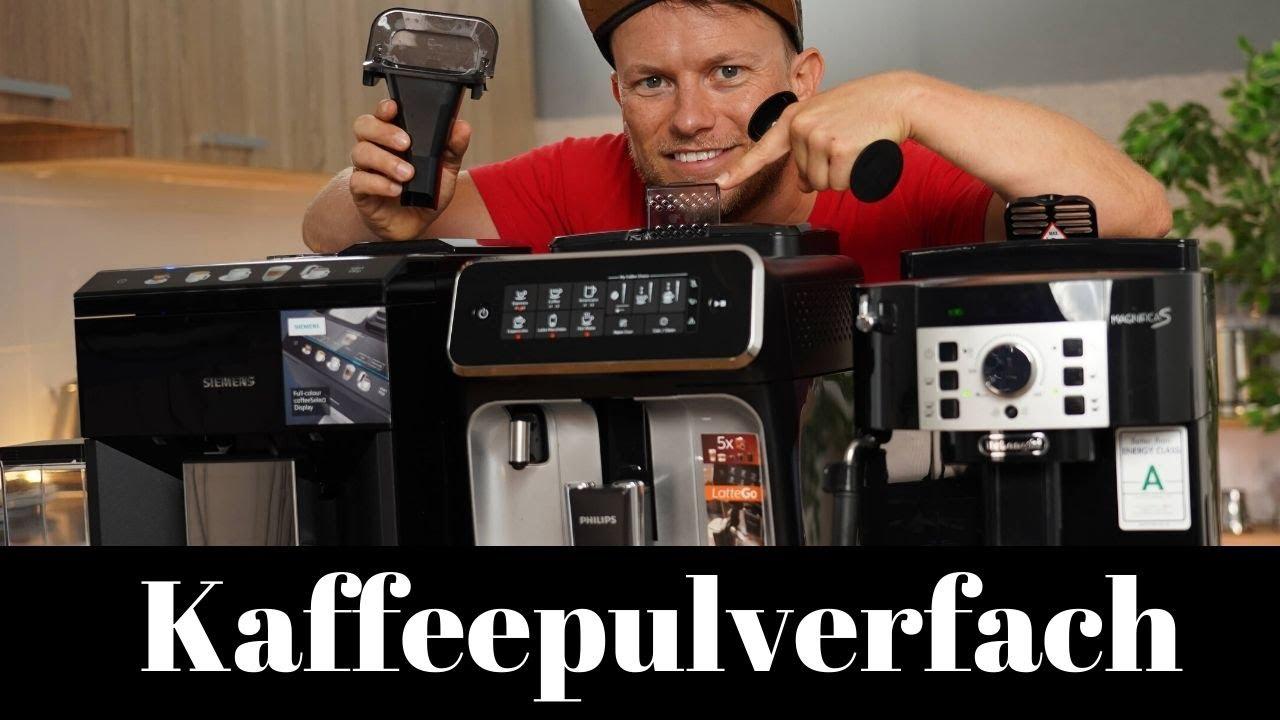 Schimmelfalle Kaffeepulverfach? Wir testen 3 Kaffeevollautomaten!