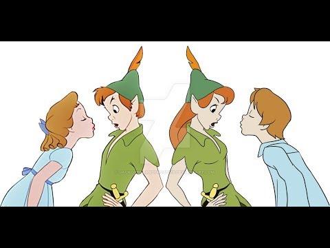 Peter Pan Gender-bend