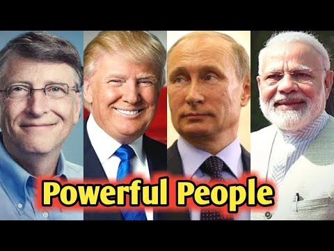 Top 10 Most Powerful People in the world 2017