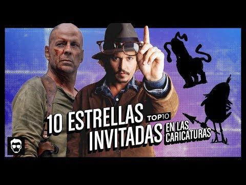 10 Estrellas Invitadas en las Caricaturas | Top 10 #46 | LA ZONA CERO