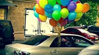 видео доставка воздушных шаров