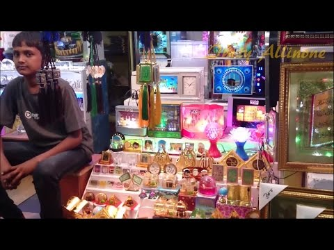 Small & Amazing Street / Road Side Gift & Light Shop In Ajmer Rajasthan India HD 1080p