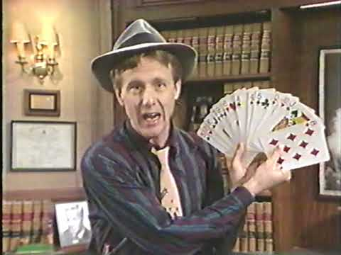Harry Anderson Card Magic Trick